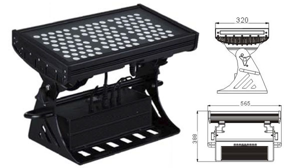 ዱካ dmx ብርሃን,የ LED ግድግዳ መሸፈኛ መብራቶች,500W ካሬ IP65 RGB LED flood flood 1, LWW-10-108P, ካራንተር ዓለም አቀፍ ኃ.የተ.የግ.ማ.