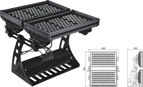ዱካ dmx ብርሃን,የ LED flood flood,500W መረባ IP65 DMX LED ግድግዳ ማጠቢያ 2, LWW-10-206P, ካራንተር ዓለም አቀፍ ኃ.የተ.የግ.ማ.