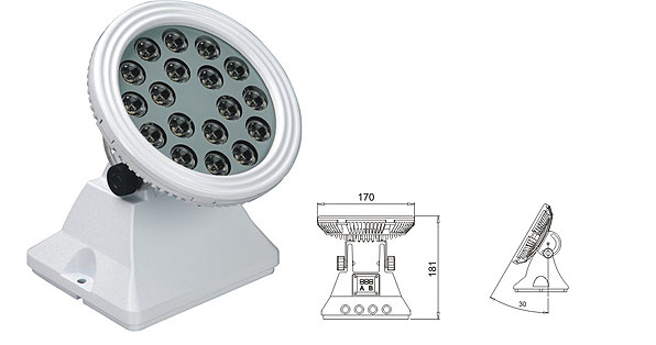 Led drita dmx,Drita e rondele e dritës LED,25W 48W rondele e rrymës LED 1, LWW-6-18P, KARNAR INTERNATIONAL GROUP LTD