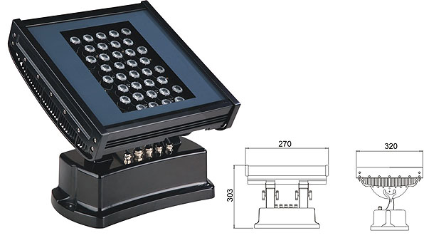ዱካ dmx ብርሃን,LED flood floodlights,108W 216W ገላጭ ውሃ የማያስተላልፍ የ LED ግድግዳ ማጠቢያ 1, LWW-7-36P, ካራንተር ዓለም አቀፍ ኃ.የተ.የግ.ማ.