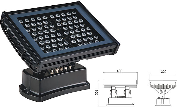 ዱካ dmx ብርሃን,LED flood floodlights,108W 216W ገላጭ ውሃ የማያስተላልፍ የ LED ግድግዳ ማጠቢያ 2, LWW-7-72P, ካራንተር ዓለም አቀፍ ኃ.የተ.የግ.ማ.