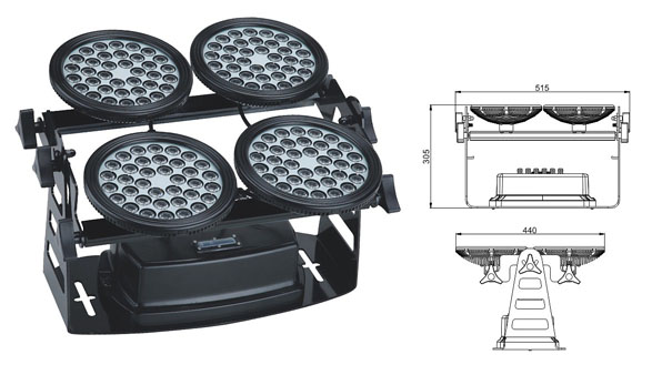 ዱካ dmx ብርሃን,የ LED ግድግዳ መሸፈኛ መብራቶች,LWW-8 LED flood flood 1, LWW-8-144P, ካራንተር ዓለም አቀፍ ኃ.የተ.የግ.ማ.