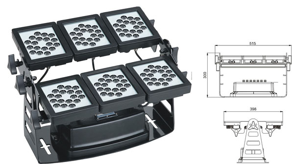 Led drita dmx,e udhëhequr nga tuneli,SP-F310B-36p, 75W 1, LWW-9-108P, KARNAR INTERNATIONAL GROUP LTD